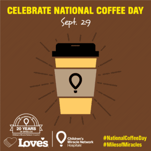 Love's Celebrates National Coffee Day on September 29 by ...